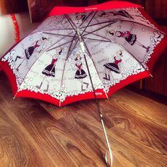 Olive Oyl umbrella.