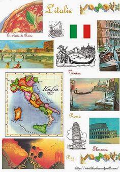 Le bonheur en famille: Géographie, l'Italie...                                                                                                                                                                                 Plus