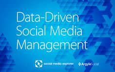 Maximize your social exposure and ROI by unlocking the insights in your data.