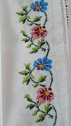 Baby Dress Pattern Free, Free Pattern, Baby Knitting Patterns, Embroidery Patterns, Cross Stitch, Crochet, Diy, Punto Cruz Gratis, Cross Stitch Borders