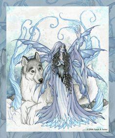 Winter Fairy by *MisticUnicorn on deviantART