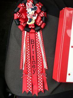 Britney's birthday corsage on Etsy, $22.00