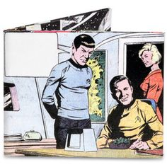 Star Trek Spock Says Wallet now featured on Fab.