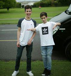 Hunter and Brandon