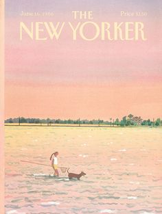 The New Yorker - Monday, June 16, 1986 - Issue # 3200 - Vol. 62 - N° 17 - Cover by : Susan Davis=