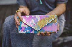 Painted purse: http://www.stylemepretty.com/2015/03/25/30-gifts-for-the-quirky-fun-effortlessly-cool/