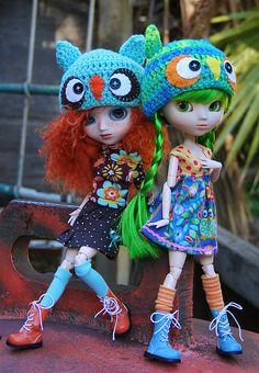 pullip dolls harajuku | Melody & Miki - Pullip Prupate & Pullip Latte by Kim-kun