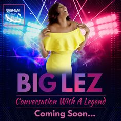"""Coming soon... NABFEME presents """"Conversation With A Legend"""" featuring multi-talented, highly respected dancer/choreographer, radio & TV personality/producer, fitness specialist, stage & film actress, entertainment icon... Leslie """"Big Lez"""" Segar.The pioneer of female Hip Hop dancers, her choreography and recognizablesilhouette shown at thebeginning of Queen Latifah's hit TV show, """"Living Single"""" has this Queen locked into music history. Stay close for more info Living Single, Professional Goals, Queen Latifah, Coming Soon, Dancers, Conversation, Personality, Hip Hop, Stage"""