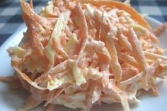 Delicious recipes Carrot salad with cheese and garlic Raw Food Recipes, Salad Recipes, Cooking Recipes, Healthy Recipes, Delicious Recipes, Good Food, Yummy Food, Carrot Salad, Russian Recipes
