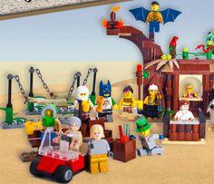Burning Man Lego ...