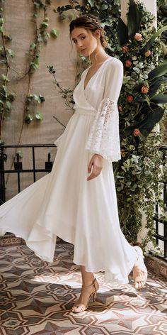 4136eb41e36d 38 Best Mid length Wedding Dress images | Groom attire, Bride groom ...