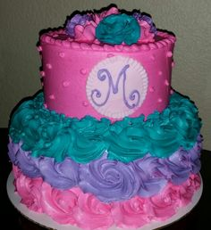 Teen girl birthday cake