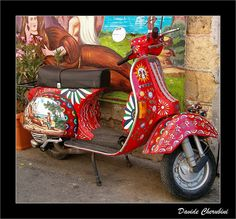 A modernized version of the Sicilian Cart.