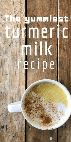 Have you tried turmeric milk before? Maybe you've heard it called turmeric tea or golden milk. Try making this comforting and healing drink with my most favorite turmeric milk recipe! Tumeric Milk Recipe, Turmeric Recipes, Turmeric Paste, Turmeric Tea, Turmeric Milk Benefits, Turmeric Health, Best Nutrition Food, Nutrition Products, Nutrition Guide
