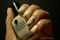 I Relish Nail Polish!: Razzle Me Dazzle Me - China Glaze, Glitter Tips w/ Fresh Paint Coconut