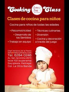 Clases De Cocina Para Niños.