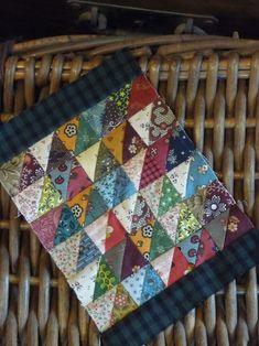 scrappi quilt, postcard quilt, quilt inspir, small quilt, mini quilt, miniatur quilt, quilt tutori