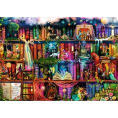 Ravensburger 1000 Parça Lisanslı Fantastik Dünya Puzzle