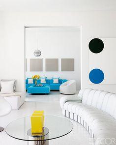 Lisa Perry's Florida living room.