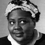 Louise Beavers as TV's Beulah, 1952