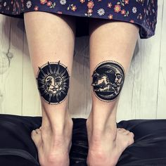 Trendy tattoo sleeve ideas for women black tat ideas Leo Tattoos, Dream Tattoos, Body Art Tattoos, Celtic Tattoos, Animal Tattoos, Tattoos For Women Half Sleeve, Tribal Sleeve Tattoos, Moon Sun Tattoo, Sun Moon