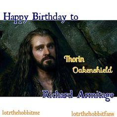 Happy Birthday to #Thorin #RichardArmitage @RCArmitage #happybirthdayrichardarmitage