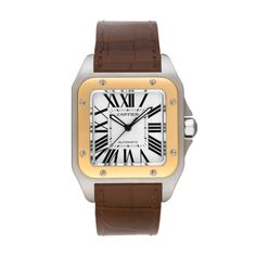 Cartier Santos 100; $9,550