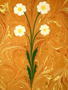 ebru paper | Turkish Marbled Paper Art - Ebru Sanati - History Forum ~ All Empires