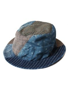 Rugged Never Smooth — patchwork Japanese Patchwork, Denim Patchwork, Anything But Clothes, Japan Store, Denim Hat, Denim Ideas, Textiles, Hat Hairstyles, Quilted Bag