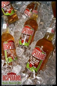Desperados. Tequila Flavoured Beer. Best enjoyed chilled with a slice of lemon! Now available in Seychelles for the first time. Try it, you'll love it!!!!