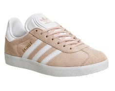 Buy Vapour Pink White Adidas Gazelle from OFFICE.co.uk.