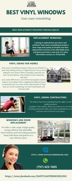 Looking for a siding installation service. We provide siding and replacement windows in Virginia Beach at affordable prices. Best Vinyl Siding, Window Company, House Siding, Warm In The Winter, Energy Star, Virginia Beach, Home Look, Windows And Doors, Save Energy