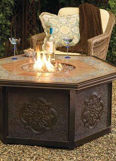 Verona Custom Gas Fire Table