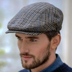 a7eae684a6e19 Boardwalk Empire Style - Traditional Flat Cap. Irish HatFlat ...