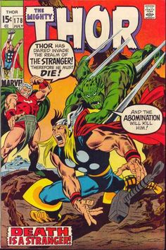 Mighty - Stranger - Abomination - Marvel - Death Is A Stranger - Jack Kirby