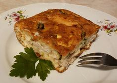 Cukkinis-sajtos csirkemell recept foto Hungarian Recipes, Hungarian Food, Kaja, Lasagna, Quiche, Cooking Recipes, Food And Drink, Breakfast, Ethnic Recipes