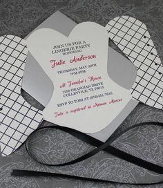 Lace-Up Corset Invitation Template
