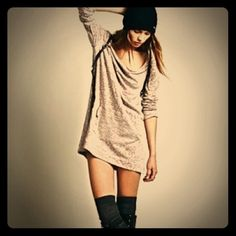 "Free People gray patchwork top - M Most similar to Free People's Mexicali top (cover shot) except the front has no pocket and it is a hi-low top.  Free People M/M is a U.S. 8/10 bust 37-38"". Meant to be be loose. Free People Tops Tees - Long Sleeve"