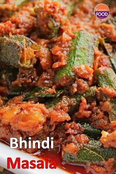 Indian Vegetable Recipes, Healthy Indian Recipes, Tasty Vegetarian Recipes, Spicy Recipes, Curry Recipes, Cooking Recipes, Pakora Recipes, Chaat Recipe, Bhindi Curry Recipe