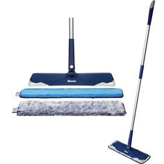 10 Genius Multipurpose Cleaning Supplies Designed to Save You Time, Space, and Money | You can sweep and mop with this microfiber mop set that over 16,000 Amazon shoppers love. It comes with a dusting pad and a cleaning pad to grab dust, dirt, hair, and allergens whether they're wet or dry. The pads are machine-washable for easy maintenance. #cleaningtips #cleanhouse #realsimple #stepbystepcleaning #cleaninghacks #cleaningguide Cleaning Hacks, Cleaning Supplies, Hardwood Floors, Flooring, Laundry Hacks, Tidy Up, Real Simple, Home Organization, Clean House