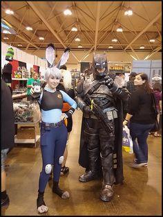 Batman armor mech bvs Fan expo Toronto 2016 Batwillcosplay