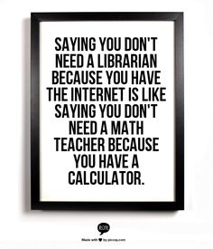 Librarians rule!