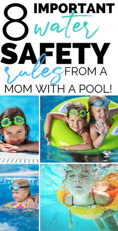 READ THESE! Important water safety rules for pools and swimming this summer. Read if you have kids. - Education and lifestyle Safety Games, Safety Rules For Kids, Child Safety, Safety Tips, Swimming Pool Rules, Kids Swimming, Teach Kids To Swim, Swimming Benefits, Swimming Equipment