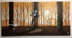 Tribute to A Nightmare before Christmas Whats this- - 12 x acrylic on canvas, ORIGINAL by Michael H. Prosper by MichaelHProsper on Etsy Paintings For Sale, Nightmare Before Christmas, Handmade Gifts, Canvas, Etsy, Vintage, Art, Kid Craft Gifts, Tela
