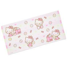 Hello Kitty bath towel gauze Sanrio online shop - official mail order site