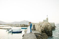 Katie and German: our beloved couple chose to get married in Paros. With extremely different backgrounds they decided on a fusion soft colors with a romantic theme. Something Beautiful, Most Beautiful, Got Married, Getting Married, Romantic Themes, Paros, Soft Colors, Monument Valley, German