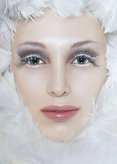 White Ice                       Repin via Alissia Couture Boutique