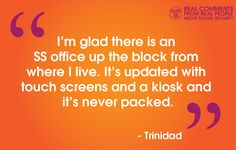 #RealQuotes from #RealPeople (like Trinidad) in our social media  #community www.socialsecurity.gov/onlineservices