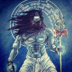 The essence of Hinduism is that the path may be different, but the goal is the same. Angry Lord Shiva, Lord Shiva Pics, Lord Shiva Family, Shiva Tandav, Rudra Shiva, Krishna, Aghori Shiva, Shiva Tattoo, Lord Mahadev