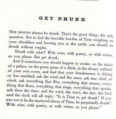 Charles Boudelaire words